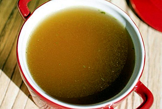 Purifying broth for Christmas excesses: recipe