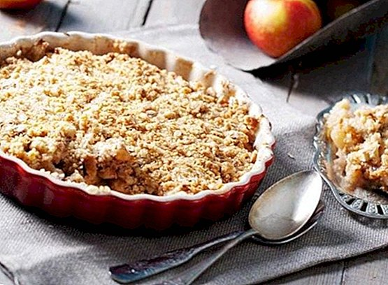 How to make traditional apple crumble (Apple Crumble) - Recipes