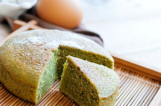 How to make a green tea cake Matcha (Matcha Kasutera)