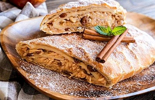 What is the strudel and how to make an apple strudel or apfelstrudel - Recipes