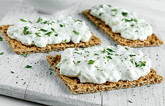 Cream cheese with nuts for toast - recipes