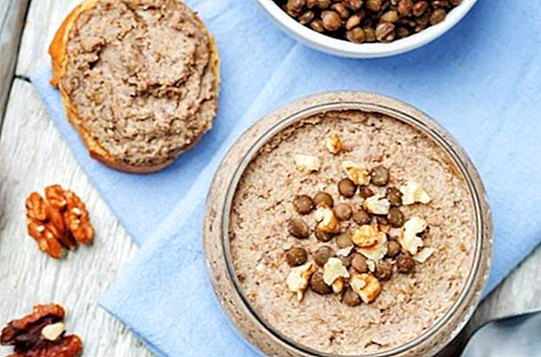 Lentil pate: two delicious recipes to spread your bread