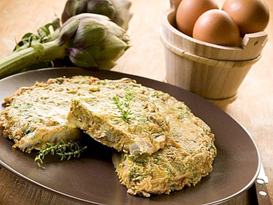 Artichoke omelette recipe step by step, easy to make - recipes