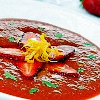 Strawberry gazpacho: recipe and benefits of an ideal dish for summer