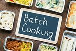 Batch Cooking: Metode for å organisere din ukentlige meny på 1 dag