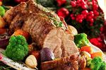 3 recipes of pork for Christmas